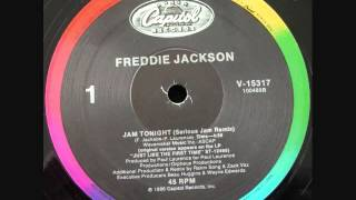 "Freddie Jackson - Jam Tonight (12"" Remix)"