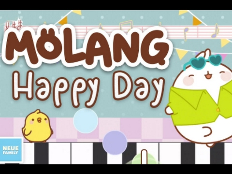 Molang: A Happy Day Part 1 - Activity App For Kids - Best App Videos For Kids
