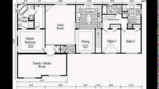 Ranch Homes Plans