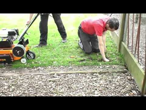 Eliet Edge Styler Wire Trenching Blade Youtube