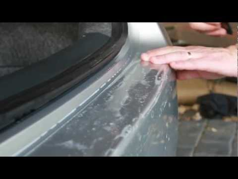 Universal Rear Bumper 3M Paint Protection Film Installation Video