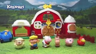 Keenway Детский игровой набор Моя маленькая ферма 30832