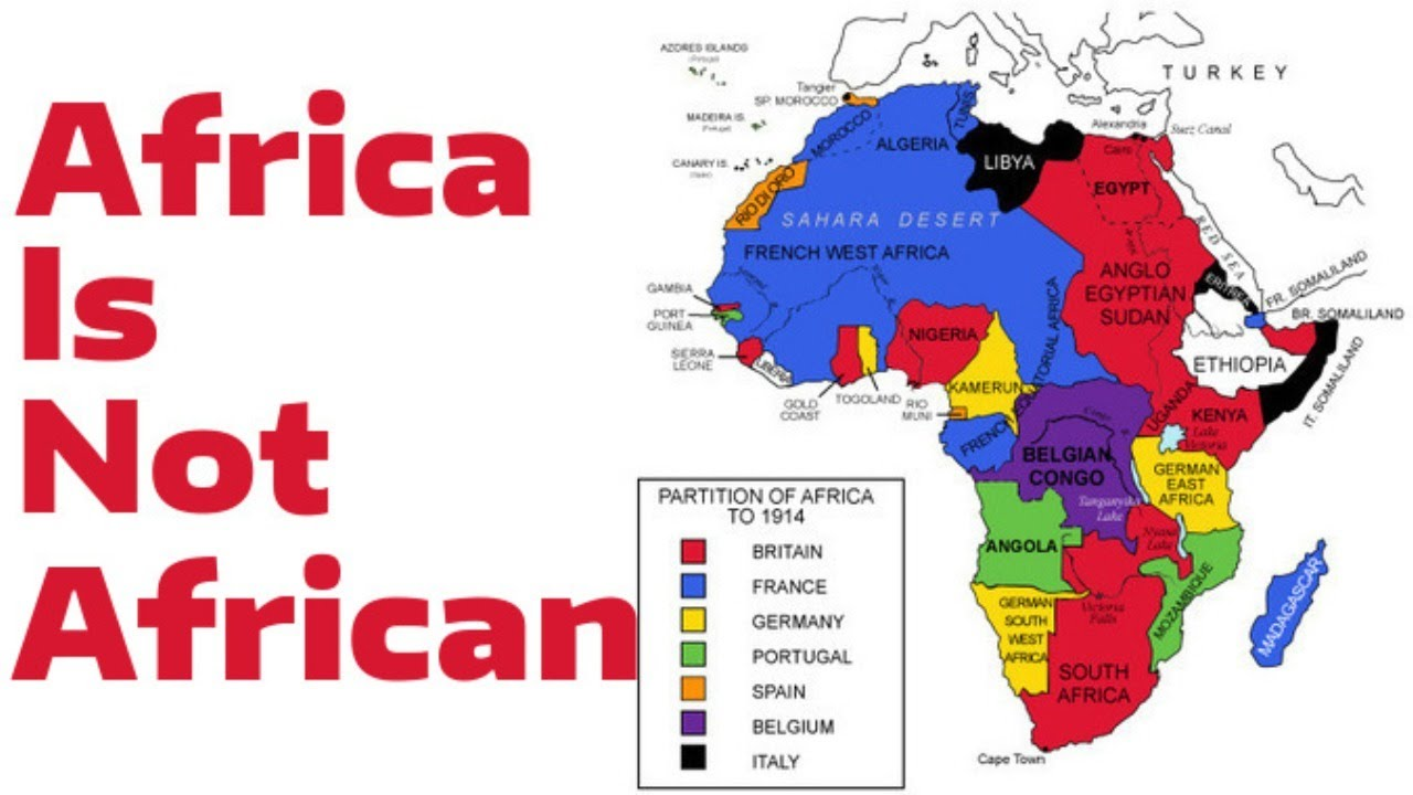 Africa Is Not African