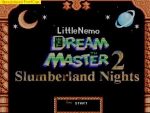 Little Nemo The Dream Master 2 Slumberland Nights Game Maker fan game