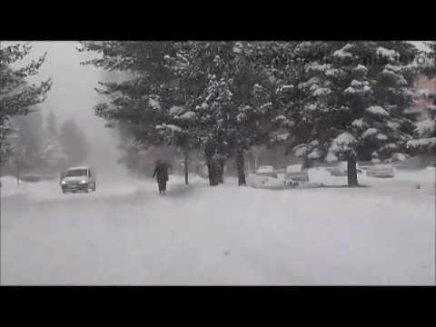 Snow in Bosnia-