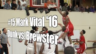 Mark Vital '16, API Senior Dunk vs. Brewster, UA Holiday Classic at Torrey Pines, 12/28/15
