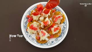 HOME MADE SIMPLE AND SWEEET SEV PURI RECIPE BY VINKLE