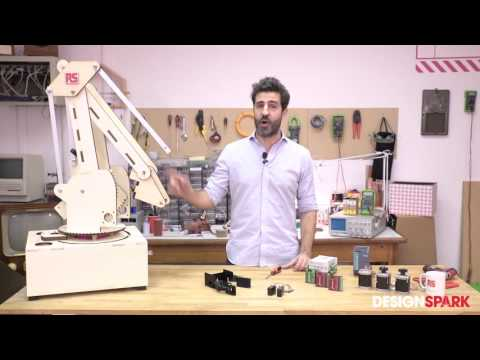 Motion control system applied on a robotic arm – Part 1