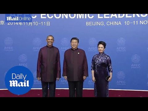 World leaders look like they have stepped out of Star Trek at APEC - Daily Mail