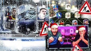 FIFA 21:FREEZE Pack Opening + TEAMBAU und NohandGaming CHARITY CUP Gauseln🔥🔥