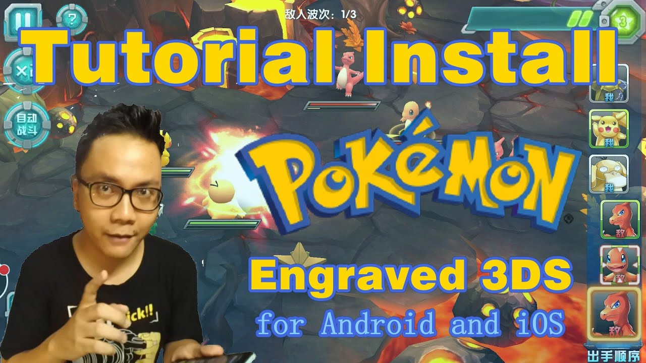 Tutorial Install Game Pokemon Engraved 3DS Pokeland Legends Action RPG Android & iOS UPDATE