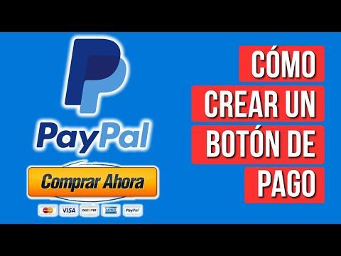 Como Crear un Boton de Pago en Paypal 2020