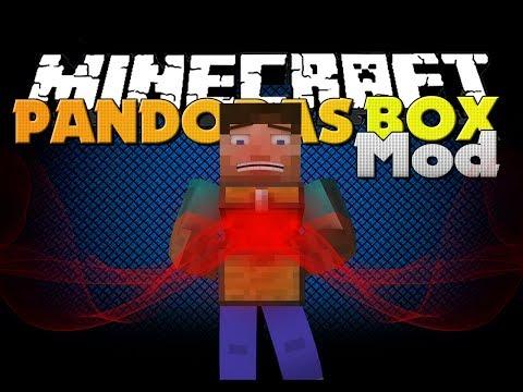 Minecraft Mod - Pandora's Box Mod - A NEW ITEM THAT SUCKS