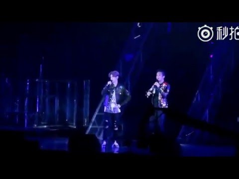 [Fancam] 160326 Luhan @ Reloaded 1st Concert in Beijing - Luhan chatting with Deng Chao