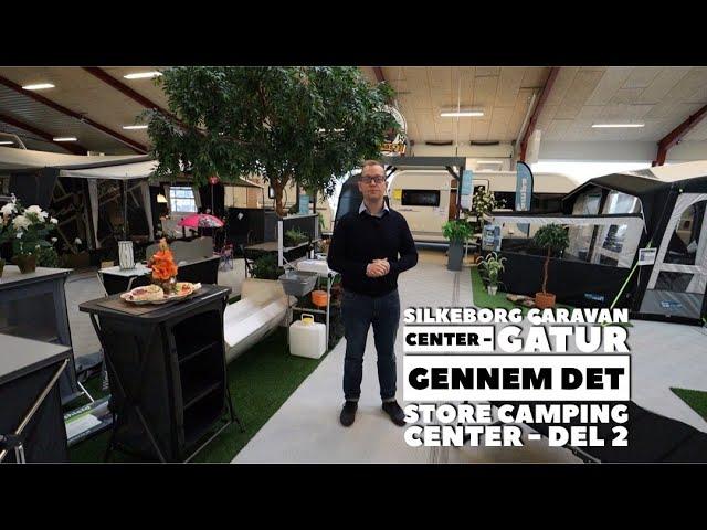 Silkeborg Caravan Center - Gåtur gennem det store Caravan Center - Del 2