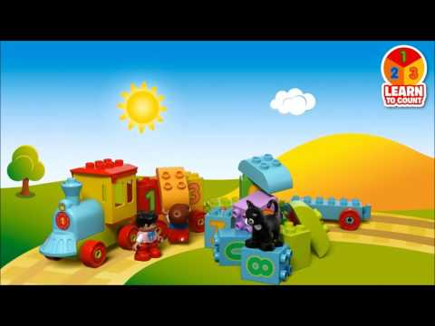Smyths Toys - LEGO DUPLO Creative Play Number Train 10847