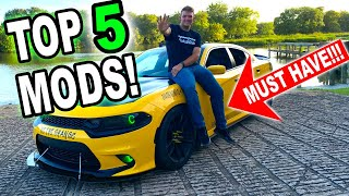 TOP 5 CHEAPEST DIY MODS YOU MUST HAVE in 2020!!! Dodge Charger/Challenger | Damdaved