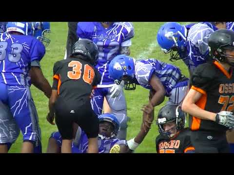 Osseo Football Association 8th Grade 2017 Game 9C