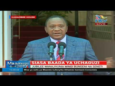 We are all Kenyans, we do not need to turn one another - President Uhuru Kenyatta