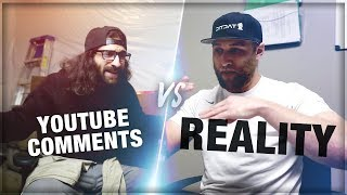 YOUTUBE COMMENTS vs REALITY with OpTic Strength