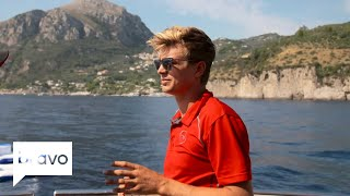 Below Deck Mediterranean: Captain Sandy Comes Down On Conrad Again (Season 3, Episode 10) | Bravo