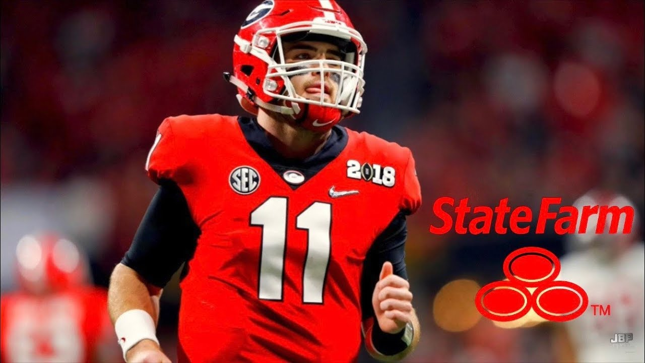 Jake Fromm State Farm Georgia Qb Jake Fromm 2018 Highlights ᴴᴰ Youtube