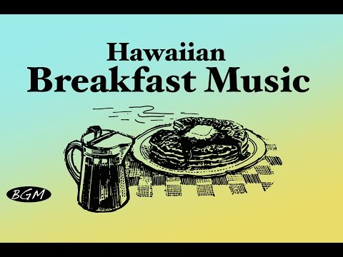 【Hawaiian Guitar Music】Hawaiian Cafe Music For Relax,Study,Work - Instrumental Background Music