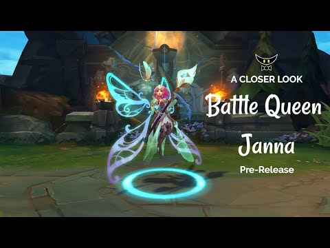 Battle Queen Janna Epic Skin (Pre-Release)
