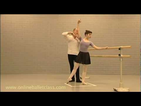 Ballet Lesson: Tendu