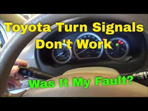 Toyota Turn Signals Not Working – Diagnosis and Repair