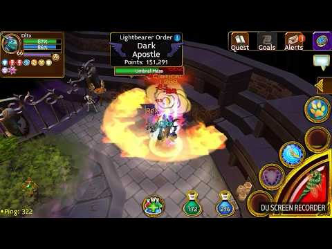 Arcane Legends | Boss Kill Solo #1 | Mausoleum#1