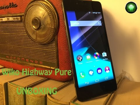 Wiko Highway Pure - Unboxing ITA FULL HD