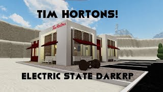 Tim Hortons in Electric State Darkrp! (Roblox)