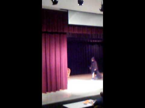 Timberwood middle school talent show 2k16 Star wars battle!