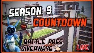 🔵 Fortnite Live ~Season 9 Live Gameplay~ BattlePass Giveaways