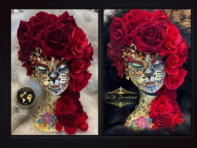 LUXURY HEAD FANTASY LASH ART BY   EMANUELA AVERSA