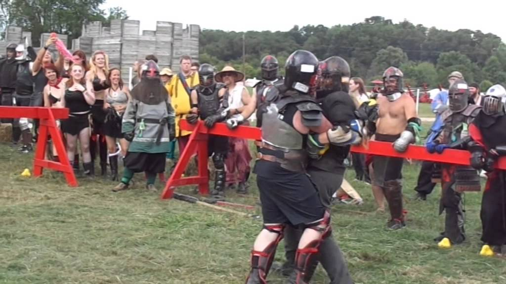 Medieval Weapon Fighting with grappling allowed