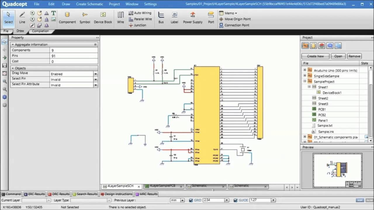 Quadcept Circuit Designer Design Youtube Maker Schematic To Pcb