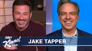 Jake Tapper on Potential Impeachment, Capitol Attacks & Trump Aging Him