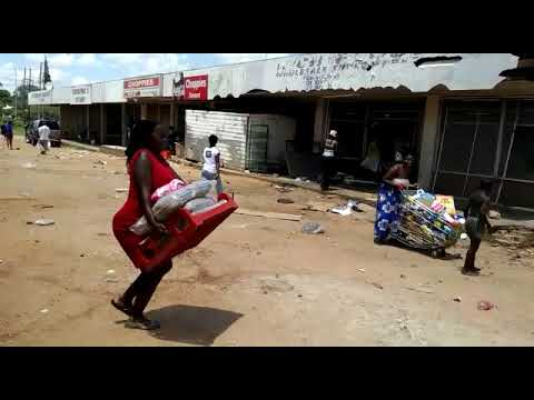 ShutdownZimbabwe - Looting In Bulawayo