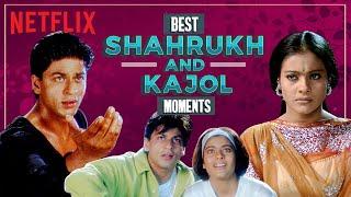 Best Shahrukh & Kajol Moments | Rahul & Anjali | Netflix India