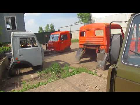 Кабина КАМАЗ 53212 цвет Хаки