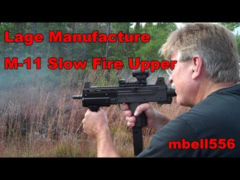 Lage Manufacturing Max-11 M-11 Slow Fire 9MM Upper Receiver