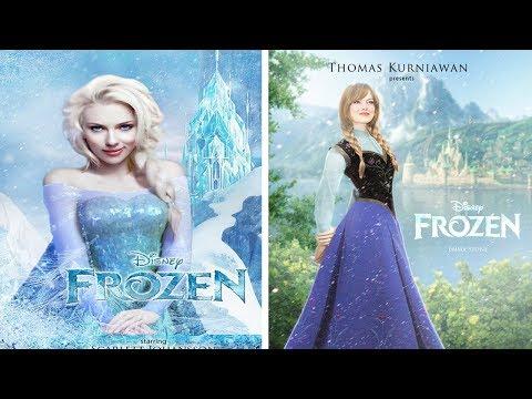 ¿Qué actrices podrían ser perfectas para ser Princesas Disney