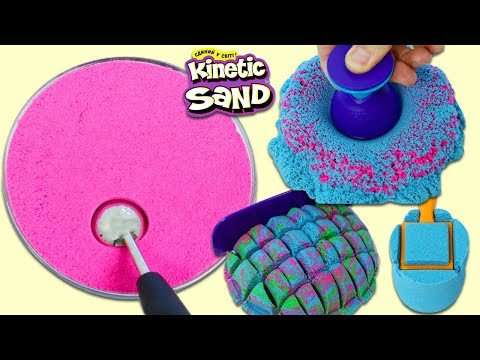 Super Satisfying & Relaxing Kinetic Sand ASMR Video!