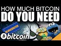 How Much Bitcoin Do You Need To Be Rich & Have Financial Freedom?