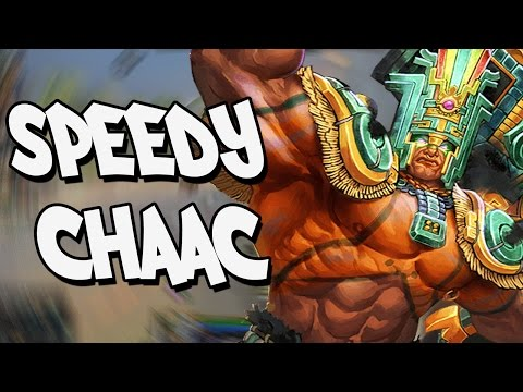 Smite: Speed Demon Chaac - Clash - I Underestimated the SPEEED!