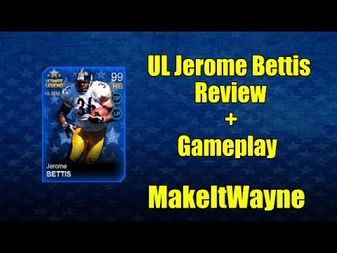 Madden 25 Ultimate Team: UL Jerome Bettis Review + Gameplay