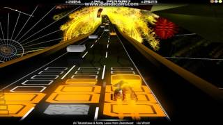Audiosurf - Ali Tabatabaee & Matty Lewis from Zebrahead - His World