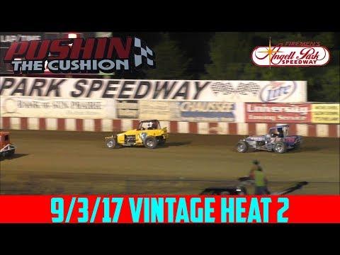 Angell Park Speedway - 9/3/17 - Vintage - Heat 2
